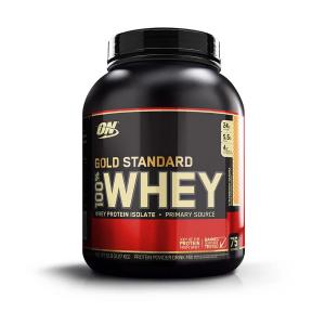 Optimum Nutrition Gold Standard 100% Whey Protein Powder, Strawberry Banana, 24g Protein, 5 Lb